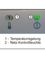 GCCD290 - Glastür-/Flaschenkühlschrank