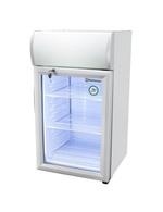 GCDC50SSW - Theken-Displaykühlschrank - silber