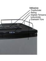 GCBK160 - Bierfasskühlschrank/Bierkühlschrank - Edelstahlfront