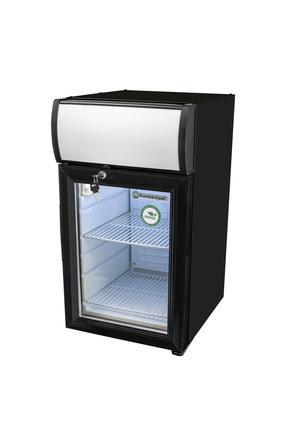 GCDC25BBW - Theken-Displaykühlschrank - schwarz/weiß