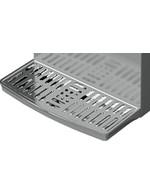 GCBIB110SSW - Bag-in-Box Kühlschrank - silber - 3x10 Liter