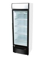 GCDC350 - Werbedisplaykühlschrank - schwarz/weiß