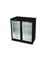GCUC200HDB - Untertheken-Kühlschrank - schwarz - Flügeltür