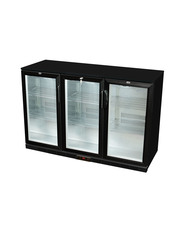 GCUC300HDB - Theken-Kühlschrank/Getränkekühlschrank - Flügeltür - schwarz