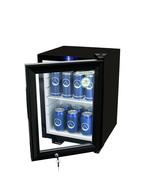 GCKW24BBW - Flaschenkühlschrank / KühlWürfel XS - LED - schwarz/weiss