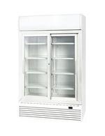 GCDC1000SD - WerbeDisplaykühlschrank - Schiebetür - weiß
