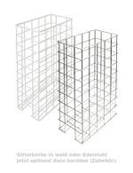 GCBIB20 - Bag-In-Box Dispenser Kühlschrank - 2x10 Liter – Zubehör Gitterkörbe weiß oder Edelstahl