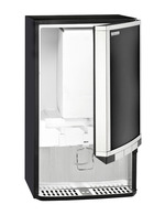 GCBIB30 - Bag-In-Box Dispenser Kühlschrank - 3x10 Liter – offen und befüllt mit 20l-Bag