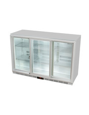 GCUC300SDS - Theken-Kühlschrank / Getränkekühlschrank - Schiebetür - silber