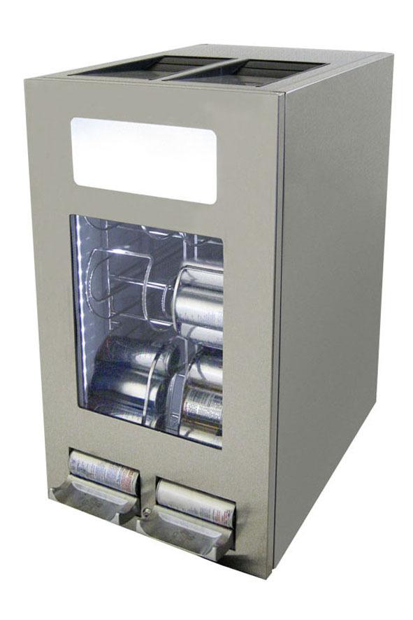 kühlschrank edelstahl