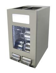 GCAP100-250_Edelstahl - Dosen Dispenser Kühlschrank - Edelstahl - 96 Dosen