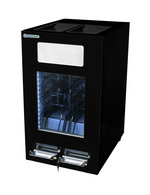 GCAP100-250_Schwarz - Dosen Dispenser Kühlschrank - schwarz - 96 Dosen