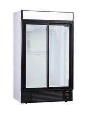 GCIN800SD_Eco - Glastürkühlschrank/Flaschen- und Dosenkühlschrank - Schiebetür