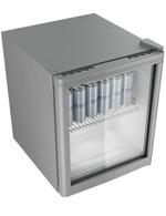 GCKW50SSW - KühlWürfel / Glastürkühlschank - silber