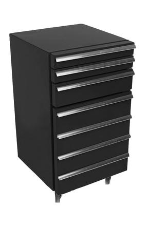 GCCT50-3 - Cool-Tool mit 3 Schubladen / Werkzeugwagen-Kuehlschrank