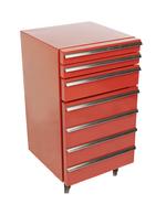 Cool-Tool Werkstattwagen-Kühlschrank mit 3 Schubladen