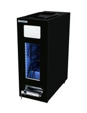 GCAP50-500 - Dosen Dispenser-Kühlschrank - Schwarz