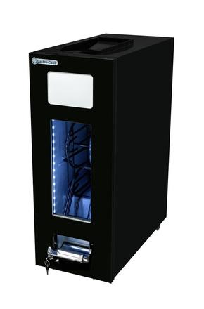 GCAP50-250 - Dosen Dispenser-Kühlschrank - schwarz