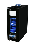 GCAP50-250 - Dosen Dispenser-Kühlschrank - Schwarz - 48 Dosen