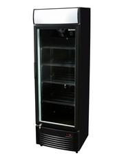 GCDC350 schwarz - Werbedisplaykühlschrank