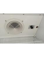 GCGD360 - Glastürkühlschrank – Detail manuelle Temperaturkontrolle und Ventilator