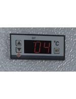 GCUC200SDB - Untertheken-Kühlschrank - Schiebetür - Schwarz - Thermostat