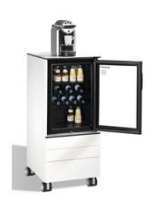 Kühlschrank-Servierwagen mit 3 Schubladen