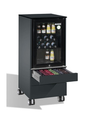 Mobiler Mini-Kühlschrank für den Meetingraum