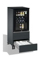 Kühlschrank mit 3 integrierten Schubladen