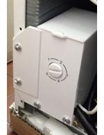 GCGB40 - Gefrierbox - weiß . Temperaturregler