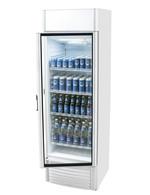 Getränkekühlschrank silber