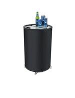 Event Kühlschrank in Dosenformat rund