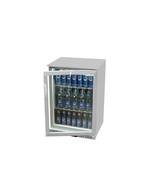 Unterthekenkühlschrank silber