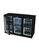 Unterthekenkühlschrank mit Glasflügeltür