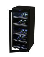 Weintemperierschrank mit zwei Kühlzonen