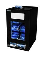 Gewerbekühlschrank für Dosen in schwarz