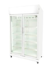 GCDC1050 - WerbeDisplaykühlschrank - Flügeltür - weiß