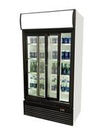 Flaschenkühlschrank mit Schiebetür