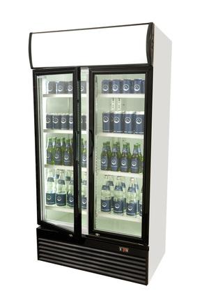 Getränkekühlschrank mit Doppeltür - 800 Liter - Flügeltür ...