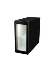 Kleiner werkewirksamer Glastür-Kühlschrank