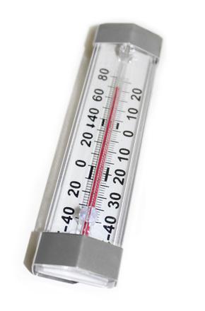 Gefrierschrank Thermometer mit Edelstahl Hacken