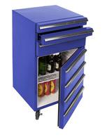 Cool-Tool mit 3 Schubladen geöffnet / Werkstatt Kühlschrank