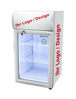 Kühlschrank für Thekenbereich mit individuellen Motiv