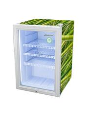 GCKW65BBW - KühlWürfel L - silber/weiß mit Bambusdesign