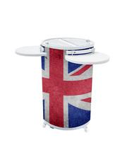Union Jack - Mobiler Kühlschrank