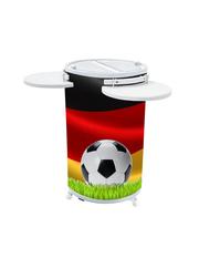 Promotionkühlschrank mit Deustschland Flaggen Design