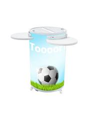 Party-Cooler für Fußballfans