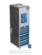 Edelstahl - Dosen Dispenser-Kühlschrank - Unterwagen