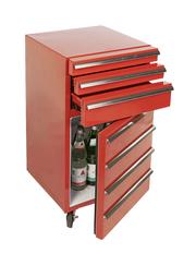 Cool-Tool Werkstattwagen 3 Schubladen rot