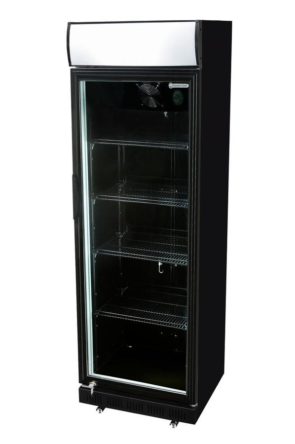 Glastürkühlschrank mit Werbe Display - LED - Versandkostenfrei ...